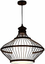 BEuropean Style Bamboo Woven Chandelier, Natural