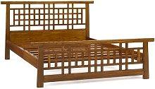 Bevans Lattice Kingsize Bed Frame Bloomsbury Market