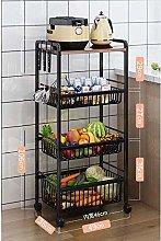 Beverage Serving Trolleys 3 Layer Kitchen Trolley
