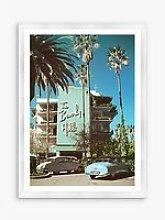 Beverly Hills Hotel 1 - Framed Print & Mount, 76 x