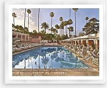 Beverly Hills Hotel 2 - Framed Print & Mount, 66 x