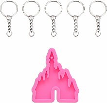 Beyonday with Keyring Cake Tool Shiny Pendant