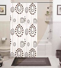 beytug Beautiful extra long and wide fabric shower