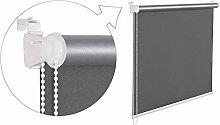 beytug Grey Thermal Blackout Window Roller Blind