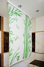beytug Modern Waterproof Bamboo Shower Curtain