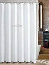 beytug Quality Extra Wide Plain White Fabric
