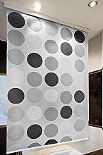 beytug Retro Shower Curtain Blind 140CM X 240CM