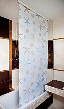 beytug Waterproof Shower Curtain Blind Extra Long,