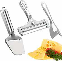 BFACCIA 3Pcs Cheese Cutter Tools Stainless Steel
