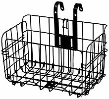 BFDMY Folding bicycle basket, wire mesh Foldable