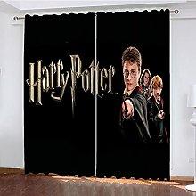 Bfrdollf Harry Potter Curtains Blackout Curtain