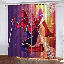 Bfrdollf Marvel Blackout Curtain Set for Bedroom