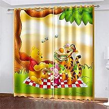 Bfrdollf Winnie The Pooh Blackout Curtain