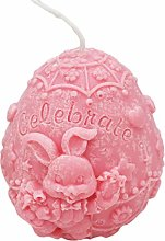 BFYDOAA Easter Silicone Mould Candle,Easter Egg