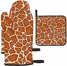 Bgejkos Giraffe Texture Pattern Brown Burgundy