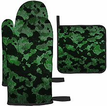 Bgejkos Green And Gray Camouflage Pattern