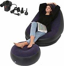 bgfh Inflatable Air Mattress Footrest Sofa Deck