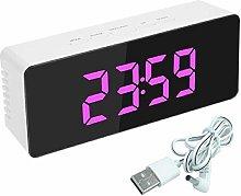 BGJ Digital Mirror LED Display Alarm Clock