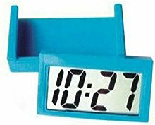 BGJ Small Self-Adhesive Car Desk Clock Electronic