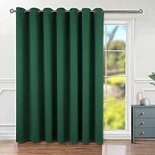 BGment Sliding Patio Door Blackout Curtain for