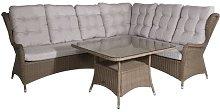 Bhavin 5 Seater Rattan Corner Sofa Set Sol 72