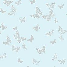 BHF DL40566 Sparkle 2 Butterfly Wallpaper-Light