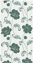 BHF FD20336 Floral Acanthus Silver/Black Wallpaper
