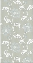 BHF FD20337 Floral Acanthus Taupe Wallpaper