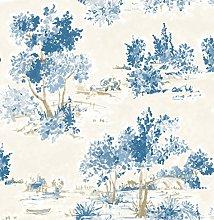 BHF FD22052 AubreeTree Toile Wallpaper