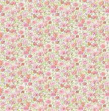 BHF FD22217 Ami Elsie Pink Floral Wallpaper