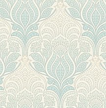 BHF FD22426 Kj Azmaara Twill Sage Wallpaper