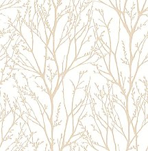 BHF FD22443 Kj Azmaara Autumn Coral Wallpaper