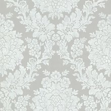 BHF FD68716 Claremont Roselle Damask Grey Wallpaper