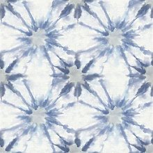 BHF SZ001857 Kismet Fly Indigo Shibori Wallpaper