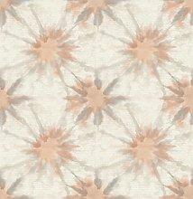 BHF SZ001860 Kismet Whisper Coral Shibori Wallpaper