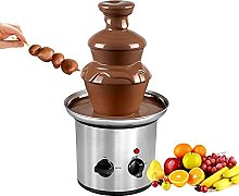 BHGFU 3-Tier Chocolate Fondue Fountain for