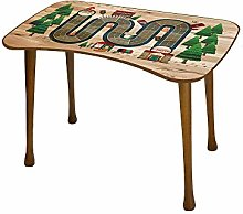Bhome Kids Table + Stool Set Activity Desk Wooden