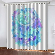 BHOMLY - Blackout Curtains For Kids Bedroom - 3D