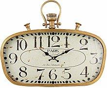 BHP Wall Clock, Gold, 55x6x45 cm