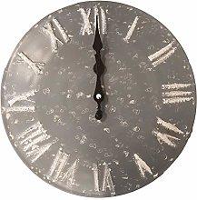 BHP Wall Clock, Gray, 30x3,5x29,5