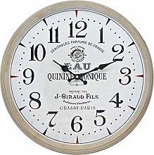 BHP Wall Clock, White Gold, 46x7x46 cm