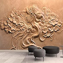 BHXIAOBAOZI 3D European Large Wallpaper Murals -
