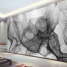 BHXIAOBAOZI 3D Large Smoke Wallpaper Murals -