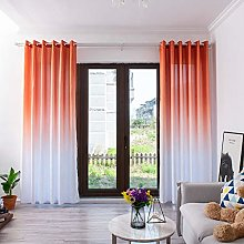 BHYDRY Gradient Curtains, Sheer Tulle Window