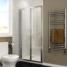 Bi Fold Shower Door 900mm Bi-Fold Shower Door