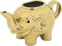 BIA Elephant Creamer Gold
