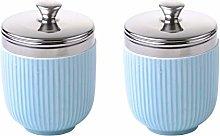 BIA - Porcelain Egg Coddler I Set of 2 Celadon