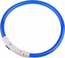BiaBai Dog Collar USB Rechargeable Light-Emitting