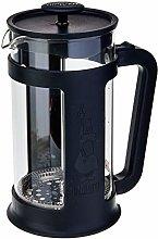 Bialetti 0006186 Smart Plunger Coffee Maker 1L