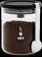 Bialetti Glass Coffee Jar with Spoon for 250 g - 1